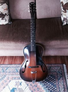 This is my 1939 Gibson L-30, and I play it almost every day!