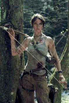 Lara Croft cosplay - Noelani's halloween costume!