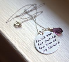 Mother In Law Gift Mother of the Groom by JessieGirlJewelry, $45.00