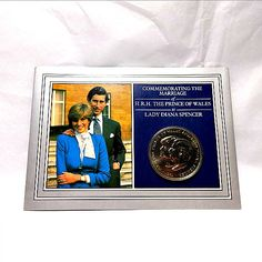 Royal Mint Coin 1981 Wedding The Prince Of Wales Lady Diana Spencer Commemorative Charles And