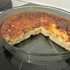 Quiche sans pâte au thon (Tupperware)                                                                                                                                                                                 Plus