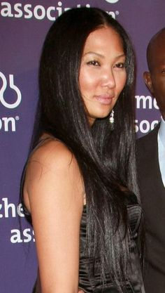 Kimora Lee Simmons sexy, sleek hairstyle