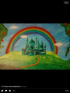Look At The Other Examples Of My Children Murals! Contact Me If Interested.  I Use Acrylic Paint On Walls To Create Murals. Wizard Of Oz ... Part 94