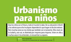 +S Tendencias _ urbanismo para niños