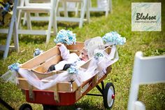 perfect for those flower girls and ring bearers who aren't too certain on their feet yet!