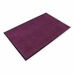 Entrance Mat, Maroon, 5/16 In, 4 ft xCustom by Notrax. $19.73. Entrance Mat, Heavy Traffic, Material Decalon, Vinyl (Backing), Maroon, Length Custom, Width 4 ft., Thickness 5/16 In., Heavyweight Vinyl Non-Slip Backing, Design Tufted Loop Pile, Construction Tufted Looped Pile For Finishing, Drying And Cleaning