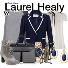 Inspired by Mary Elizabeth Winstead as Laurel Healy on BrainDead