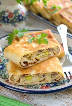 Vegetarian Recipes, Cooking Recipes, Healthy Recipes, Snacks Für Party, Polish Recipes, Feel Better, Food And Drink, Appetizers, Pierogi