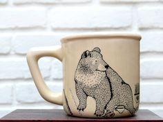 Lieke van der vorst - Bear illustration