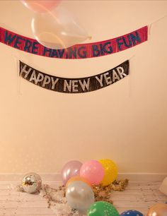We're Having Big Fun Glittering Fringe Banner by FUN CULT  ***HOLIDAY GLITTERING FRINGE BANNERS ARE BACK FOR A VERY LTD TIME!***