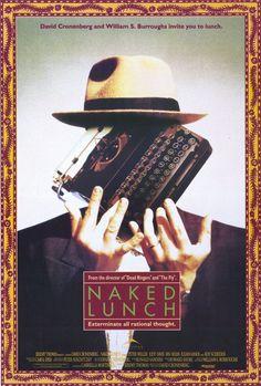 Naked Lunch - David Cronenberg  An off-beat movie, love Cronenberg, he is…