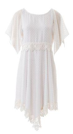 burda style, Schnittmuster - Romantikkleid aus easy F/S 2015