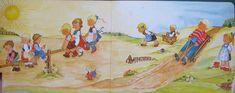 Kindergarten - Bilderbuch 50er