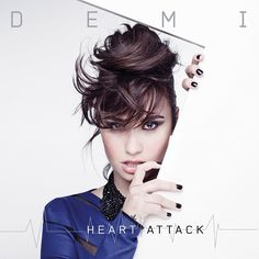 "Obsessed with Demi Lovato's new single, ""Heart Attack"" off her upcoming fourth album!!!!"