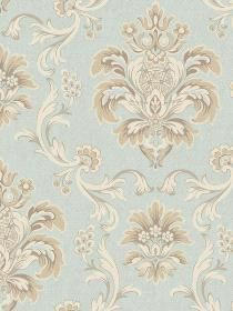 Wallpaper  pattern EL3933. Keywords describing this pattern are brocade, Damask.  Colors in this pattern are Light Gray, Light Green, Tan.  Alternate color patterns are EL3934;Page:65;EL3932;Page:67;EL3935;Page:71;EL3936;Page:73.  Coordinating patterns are EL4004;Page:43;NV6065;Page:68. Product Details:  prepasted  strippable  washable  Material is Paper. Product Information:  Book name: Arlington Pattern #: EL3933 Repeat Length: 20 1/2 inches.  Pattern Length: 16 1/2 inches.  Pattern…