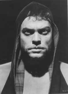 Orson Welles as Macbeth.  Please excuse me as I obsess over this!!!