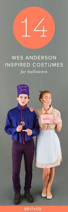 These easy (think: thrift store) costumes will help you harness that signature Wes Anderson style and humor.