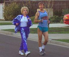 I'll never ever be able to attain the coolness factor of Kath and Kel when exercising.