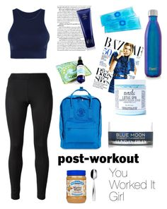 """Worked It"" by vawilsonus ❤ liked on Polyvore featuring beauty, Versace, Fergie, Fjällräven, Sunday Riley, Mod Bath and Body, S'well, Alessi, Murphy and Oribe"