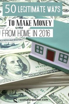 Do you want to make money from home but avoid getting ripped off?  Here are 50 legitimate ways to make extra money from home.