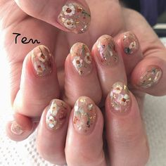 Ideas for nails art elegant manicures Pink Nails, Gel Nails, Nail Nail, Manicures, Sunflower Nail Art, Floral Nail Art, Star Nails, Luxury Nails, Trendy Nail Art
