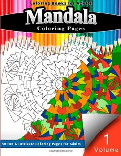 Coloring Books For Adults Mandalas Book