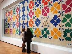 A visit to the Museum of Modern Art's blockbuster Matisse show with the artist's great-granddaughter. (Photograph by Selcuk Acar/Anadolu Agency/Getty)