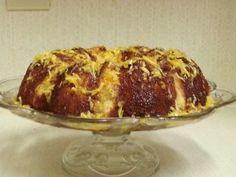 Orange chiffon cake Orange Chiffon Cake, Baked Potato, Bread, Baking, Ethnic Recipes, Food, Patisserie, Breads, Bakken