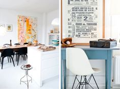 design attractor: Scandinavian Apartment Filled with Thrifty Finds