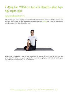 7 động tác từ tạp chí +health giúp bạn ngủ ngon giấc by Làm đẹp tự nhiên via slideshare