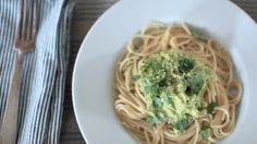 LEAF | Vegan Avocado Pasta #Recipe #Vegan