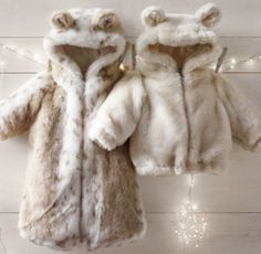 For the winter (in snow leopard) - Luxe Faux Fur Bunting