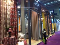 Our stand at Shenzhen Fair 2015 was bursting with pattern and colour for spring/summer!
