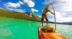@richkimchi enjoying a perfect moment with Mount Burgess in view and on Emerald lake with perfect conditions...low wind sunny and surreal in Yoho National Park . . . #sup #standuppaddle #standuppaddleboard #suplife #paddleboard #standupsurf #standupboards #paddleboarding #standuppaddlesurfing #travel #destinations #happy #paddleboarding #neverstopexploring #adventure #smile #happy #supsurf