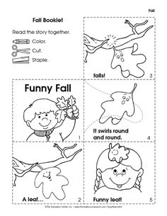 Funny Fall Booklet
