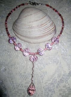 Hey, I found this really awesome Etsy listing at https://www.etsy.com/listing/211717659/pink-icing-diva-necklace-delicate
