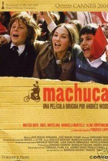 Find more movies like Machuca to watch, Latest Machuca Trailer, Two boys observe a political coup in their native Chile. Movie Theater, I Movie, Cannes, Bon Film, 12 Year Old Boy, Social Class, Trailer, Great Films, Coming Of Age