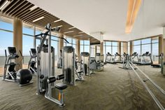 Fitness Center  Kempinski Hotel Yixing    Designed by HBA