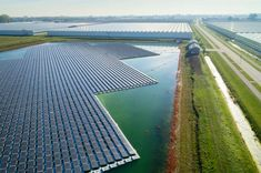 Constructed concrete floor panels located in a strong energy first floor for Spain Photovoltaic Energy, Floating Plants, Energy News, Protected Species, Temporary Structures, Water Quality, Natural Energy, Concrete Floors, Solar Power