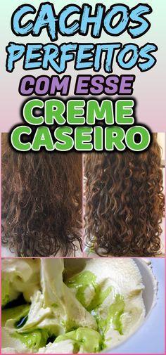 Aprenda a fazer um creme para pentear para cabelo cacheado caseiro, uma receita simples e que irá te ajudar a definir os cachos e deixar os cabelos finalizados do jeito que você gosta. #dicas #truques #receitas #caseiro #cabeloscacheados #cacheados #enrolarcabelo #cachos #cremedepentear #cremecaseiro #creme #receitacreme #cremenatural Short Curly Hair, Curly Girl, Wavy Hair, Her Hair, Curly Hair Styles, Natural Hair Styles, Long Bob Ombre, Long Bob Hairstyles, Coco