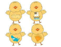 Chatty Chick Digraph Sort - cut out chicks and place them in Easter eggs. Students open them and sort the digraphs!