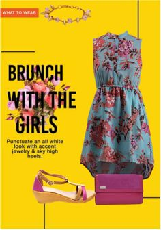 Exclusive Look by Malavika Beige Wedges, Blue Dresses, Summer Dresses, Sky High, All White, Vip, What To Wear, Brunch, Scrap