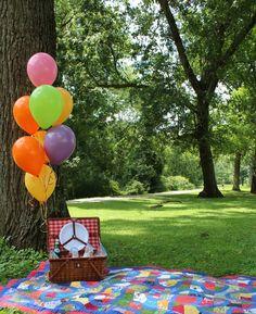 Organize um picnic legal com os amigos. Picnic é uma boa forma de encontrar com os amigos num lugar diferente.