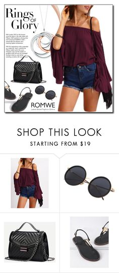 """""""ROMWE 5"""" by woman-1979 ❤ liked on Polyvore featuring Tiffany & Co."""