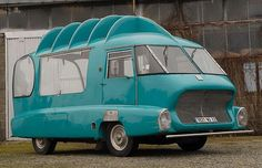 Classic Citroens: photo gallery - Telegraph1969 HY. Citroen's H-type van was an ideal basis for promotional vehicles. This example was built to promote the French milk producers' association ('Produits laitiers') as part of the cavalcade preceding the Tour de France cycle race.