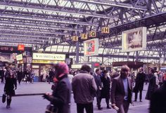 What Railway Stations Of London Looked Like In The Early 1970s