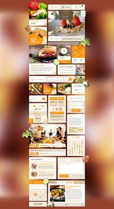 Delicious Recipes - Food UI Kit Demo   PixelKit
