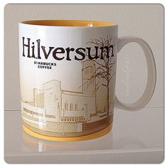 Hilversum Starbucks City Mugs, Global Icon, Dutch, Cups, Memories, Coffee, Tableware, Collection, Calla Lilies