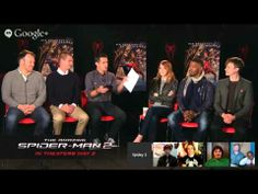 """""""The Amazing Spider-Man 2"""" - LIVE Google+ Shoppable Hangout"""