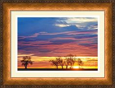 Beautiful Framed Print featuring the photograph Oh What A Beautiful #Morning by James BO Insogna #insognaGallery #sunrise #country